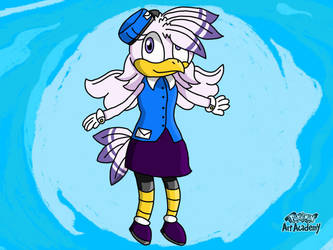 Louise the Mail Pidgeon by Samtherabbit