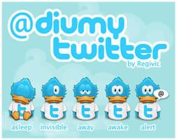 Adiumy Twitter by Regivic