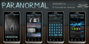 Paranormal for Android - UI by kahil