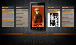 Naruto for Android UI Concept by kahil