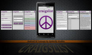 Craigslist for Android - UI by kahil