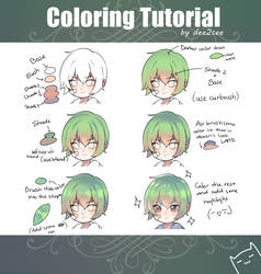 Coloring tutorial by dee2cee
