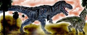 Tarbosaurus by Durbed