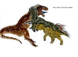 Torosaurus rage by Durbed