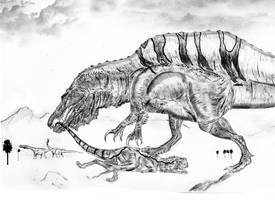 A new Spinosaurus by Durbed