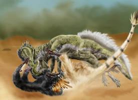 Desert warriors by Durbed