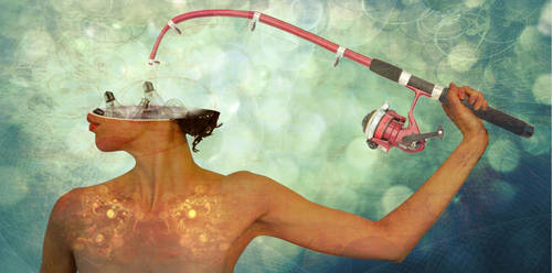 Fishing for ideas... by Adr13n