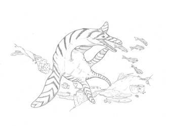 Reef Hunter by hyphenatedsuperhero