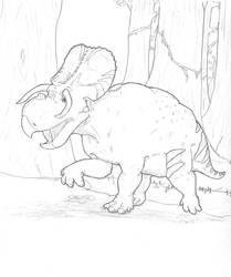 Swamp Bull by hyphenatedsuperhero