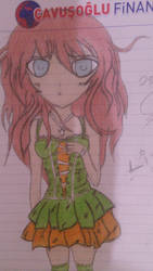 Anime Girl by DenioScream