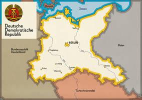 Deutsche Demokratische Republik (alternate) by schreibstang