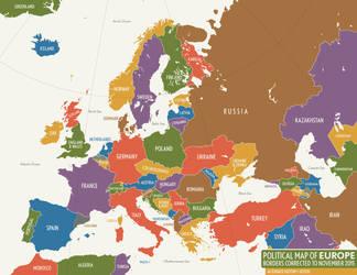 Alternate Europe, November 2015 by schreibstang
