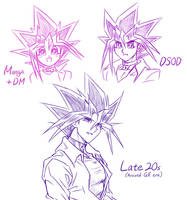 Yugi In Late 20s? :) by Ycajal
