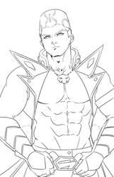 [Lineart] Go Onizuka by Ycajal