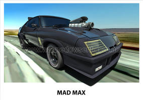 MAD MAX INTERCEPTOR by waynedowsent