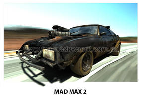 MAD MAX 2 INTERCEPTOR by waynedowsent