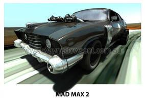 MAD MAX 2 LANDAU by waynedowsent