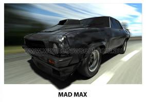 MAD MAX NIGHTRIDER by waynedowsent