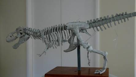 Tyrannosaurus rex Sculpture by waynedowsent