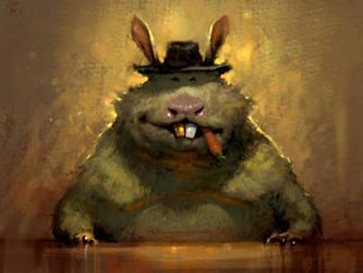 Hamster-Boss by Hamsterfly