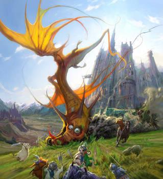 Dragon Crash by Hamsterfly