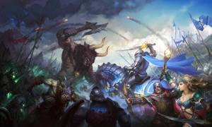 Battle Scene Final V2 by Hamsterfly
