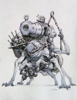Speed cannon goblin by Hamsterfly