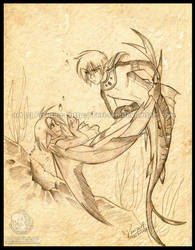 Commission - Kenzeryuu 4 by mistera-saki