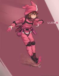 LLENN -SAO Alternative GGO- by Maarzkid