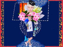 [Wallpaper] JunHo (2PM) - By YunaPhan by YunaPhan