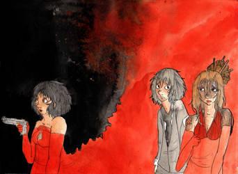 Red et Wolf by Ammyna