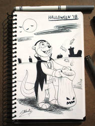 Vampire Luther Lutharie - Trick or Treat! by SAGADreams