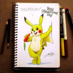 Happy Pikachu-bunny Day! by SAGADreams