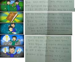 Korean Gospel Tract by CollectivistComics