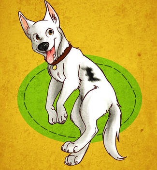 Bolt: The Wonder Dog by werewolf056