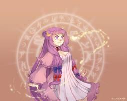 Commission: Patchouli's soul by elfexar