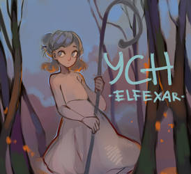 [close] YCH Auction: #61 by elfexar