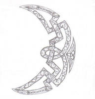 Celtic Moon by VioletSun