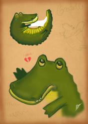 Crocodile by Nisstrae