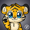[Avatar Commission] Tiger cub by InukoPuppy