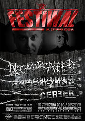 Festiwal im. Szymona Czecha - poster by BlackTeamMedia