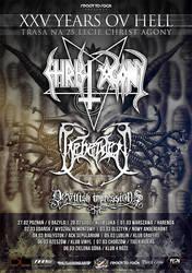 Christ Agony/ Beheaded/ Devilish Impressions Tour by BlackTeamMedia