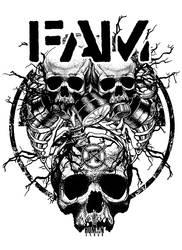 F.A.M. T-shirt by BlackTeamMedia