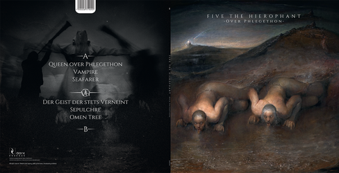 Five The Hierophant design LP by BlackTeamMedia
