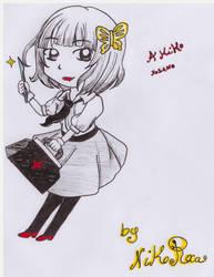 Akiko Yosano chibi by Shingery