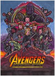 Avenger Infinity War poster by Shingery
