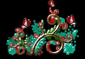 Ornamento-floral-04 by Creaciones-Jean