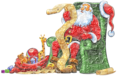 Santa-bulto-rugoso by Creaciones-Jean