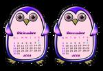 Calendario-2018-diciembre-december by Creaciones-Jean