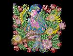 Pajaro-tropical-exotico by Creaciones-Jean